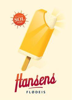 Hansen's Ice Cream by Mads Berg