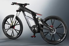 bicicleta eletrica audi