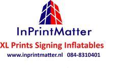 InPrintMatter maakt van oude spandoeken reclamebanners, reclamedoeken of vlaggendoek, unieke, handgemaakte, duurzame en praktische tassen , mappen etuis en overige denkbare accessoires tegen een eerlijke prijs.
