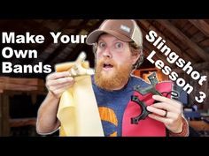 How to Make Slingshot bands and Tie on Pouches (How to Slingshot #3)   The Slingshot Community Forum