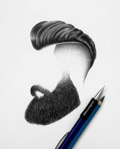 Fantasting Drawing Hairstyles For Characters Ideas. Amazing Drawing Hairstyles For Characters Ideas. Hairstyles Haircuts, Haircuts For Men, Popular Haircuts, Hair And Beard Styles, Hair Styles, Mens Facial, Hair Sketch, Big Forehead, Long Beards
