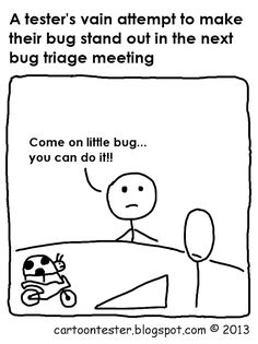Cartoon Tester: You can do it Software Testing, Software Development, I Want To Know, You Can Do, Programmer Humor, Funny Test, Computer Science, I Laughed, Banner