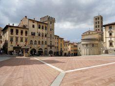 Ontdek het middeleeuwse Arezzo!