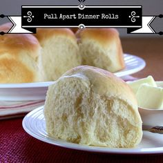 easy pull apart dinner rolls, can be frozen and baked the day you need them.