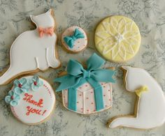 sugar cookies by thumb and cakes