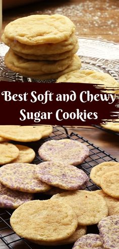 Crunchy Sugar Cookies Recipe Easy From the Food and Nutrition Experts Cookie Recipe With Oil, Popular Cookie Recipe, Chewy Sugar Cookies, Best Cookie Recipes, Sugar Cookies Recipe, Healthy Cookies, Savory Bread Recipe, Bread Recipes