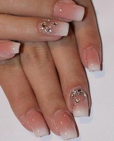 Simple and Gorgeous Prom Nail Art
