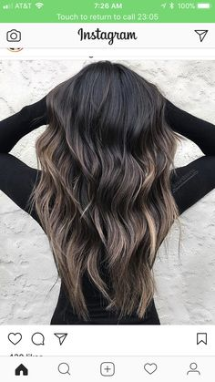 In the world of hair, there are many hairstyles that can be worn by a wide variety of hair types. Those who have long, curly hair can really try out some interesting styles with their beautiful loc… Long Curly Hair, Curly Hair Styles, Stylish Hair, Balayage Hair, Haircolor, Hair Highlights, Hair Day, Gorgeous Hair, Dark Hair