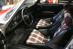 Magnus Walker interior