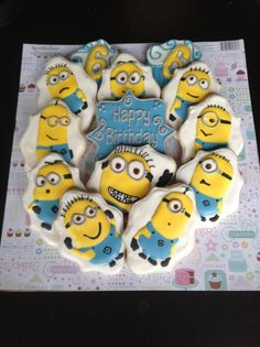Minions cookie collection