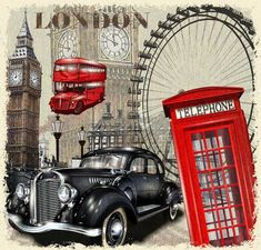 Buy London Landmarks - Cities Paint By Number kit or check our new modern collections for adults paint by numbers. Relax and enjoy your canvas painting