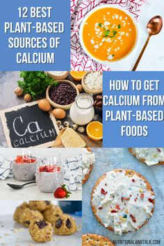 How to get enough calcium on a dairy-free diet. You can get this bone building mineral through plant foods and an RD teaches you how! #plantbased #calcium Nutrition For Runners, Nutrition Plans, Nutrition Tips, Plant Based Diet, Plant Based Recipes, Runners Food, Sources Of Calcium, Dairy Free Diet, Pre And Post