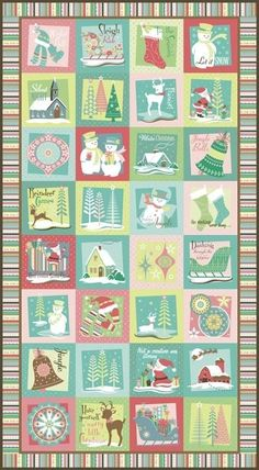 A Sheri berry Holiday Panel