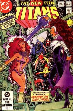 """Introducing Blackfire, Starfire's evil sister! K'omand'r of the Tamarans is voiced (like K'oriand'r) by Hynden Walch, whose k'red'ts also include """"Chalk Zone"""" and """"Adventure Time."""" She and fellow """"Titans"""" actors played the Royal Flush Gang in """"Justice League."""" Walch is the current voice of Alice in Wonderland for Disney."""