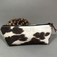 Updates from SewEasyNewYork on Etsy Cowhide Purse, Cow Print, Zipper Pouch, Cosmetic Bag, Pencil, Etsy Shop, Purses, Brown, Unique Jewelry