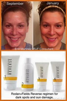 Sunspots? Freckles? Dullness? Uneven skin tone? WIPE THE SLATE CLEAN and start over with REVERSE! http://annaepting.myrandf.com