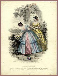 1850 - fashion illustration