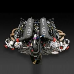 ◆ Visit MACHINE Shop Café ◆ (2006 Audi's Revolutionary V12 Diesel Engine for Le Mans 24hr)