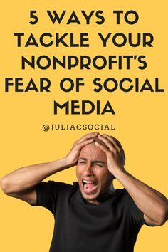 """5 Ways to Tackle #Nonprofit Fear of #SocialMedia   by @JuliaCSocial   #SMM   Julia C Campbell for JCSM blog   Starting out on social mediacan be a scary proposition for manynonprofits. Horror stories abound – staff members going """"rogue"""" and posting inappropriate Facebook photos, volunteers tweeting too much information, negative comments being left in LinkedIn…"""