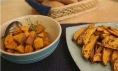 Watch Healthy Cooking: How to Cook Sweet Potatoes in the EatingWell Video