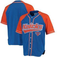 New York Knicks Starter Baseball Jersey - Royal Orange -  79.99 Sports  Jerseys 8e07244ad13