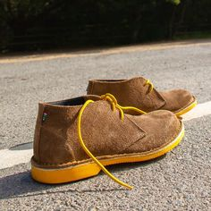 The Vilakazi Veldskoen Heritage - Handmade With Genuine Leather (Yellow Sole) Desmond Tutu, Clean Shoes, Desert Boots, Moccasins, Pairs, Style Inspiration, Flats, Unisex, Handmade Leather