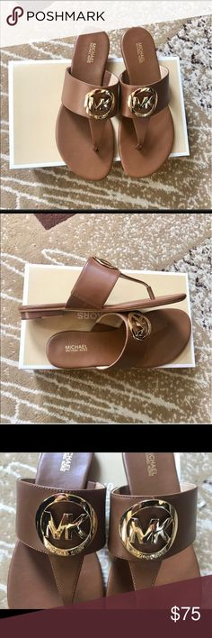 Michael kors! Brand new in box! Beautiful color! Price is FIRM Michael Kors Shoes Sandals