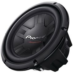 "Pioneer TS-W261S4 Champion Series 10"" 1,200-Watt 4? Subwoofer (Single Voice Coil)"