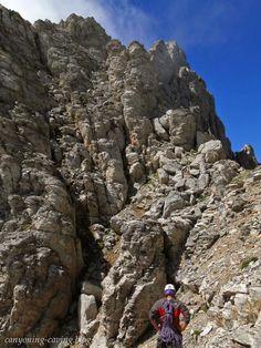 Natsis passage, mt Olympus, Greece Greece Travel, Olympus, Trekking, Mount Rushmore, Greek, Hiking, Mountains, Outdoor, Walks