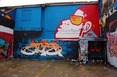 Brighton street-art / graffiti