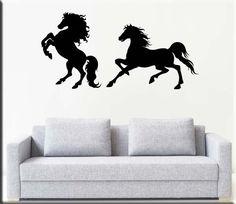 Wall stickers decorazioni murali cavalli