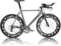 Titanium, Van Nicholas BLAZE, functional, practical design, rides like a dream, stands out from the crowd