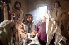 Marcos 5:22–24, 35–43, Cristo levanta de la muerte a la hija de Jairo