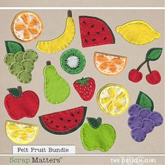 ISO: Fruit and vegetable templates - DigiShopTalk Digital Scrapbooking