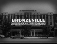 Black Metropolis-Bronzeville District or simply Bronzeville is a historic district in the Douglas community area of Chicago in Cook County, Illinois, United States. It includes nine structures that were accorded the Chicago Landmark designation on September 9, 1998