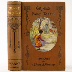 1895 BROTHERS GRIMM FAIRY TALES ELF FOLK GNOME GOBLIN GHOST FANTASY WITCH MAGIC ILLUSTRATED BY C S CHAPMAN