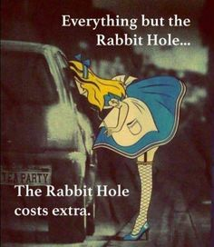 Ummm..the Rabbit Hole is permanently closed for business