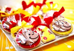 Curious George birthday party party favor idea