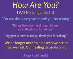 ~Angie Cartwright #Grief #Loss