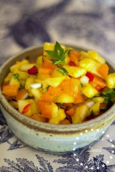Pineapple Salsa  go