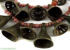 Yoruba Pendants Brass Bells Nigeria Africa