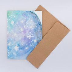 Carte de souhaits Constellation aquarelle planète étoiles Paper Envelopes, Watercolor Drawing, Kraft Paper, Constellation, Drawings, Cards, Handmade, Watercolor Painting, Sketches
