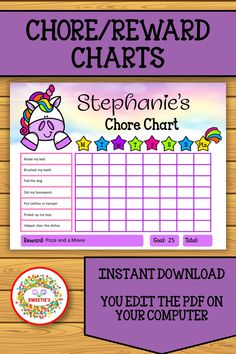 Get your kid's daily routines on track with these unicorns chore charts! Editable download. Chore and Reward Charts are included. Both Monday through Saturday and Monday through Sunday included. #chorecharts #etsy #printables #rewardcharts #unicorns Learn To Spell, Learn To Count, Chore Chart Kids, Chore Charts, Teacher Resources, Learning Resources, Teaching Ideas, Word Bingo, Kindergarten Blogs