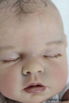 BREATHTAKING REBORN NOAH SCHICK ~ LIFELIKE BABY GIRL DOLL ~ ARTFUL BABIES-.-
