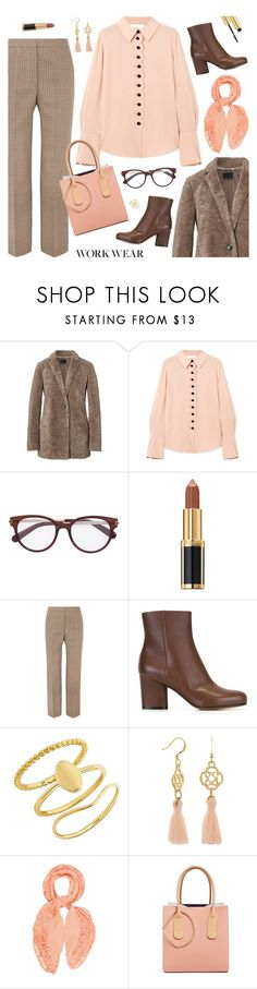 """Outfit of the Day"" by sproetje ❤ liked on Polyvore featuring Chloé, Balmain, STELLA McCARTNEY, Maison Margiela, BaubleBar, Ports 1961, Roksanda, AERIN, WorkWear and ootd"