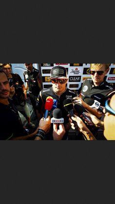 Why are al those people around me?? KR Japanese GP F1 2013