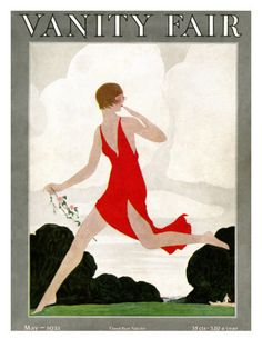 Vanity Fair Cover - May 1921 by André E. Marty