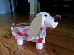 Maclaines puppy valentine box!