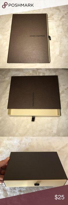 Louis Vuitton wallet box Authentic Louis Vuitton wallet box. Louis Vuitton Other
