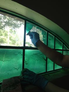 easy way to paint windows without taping up each pane